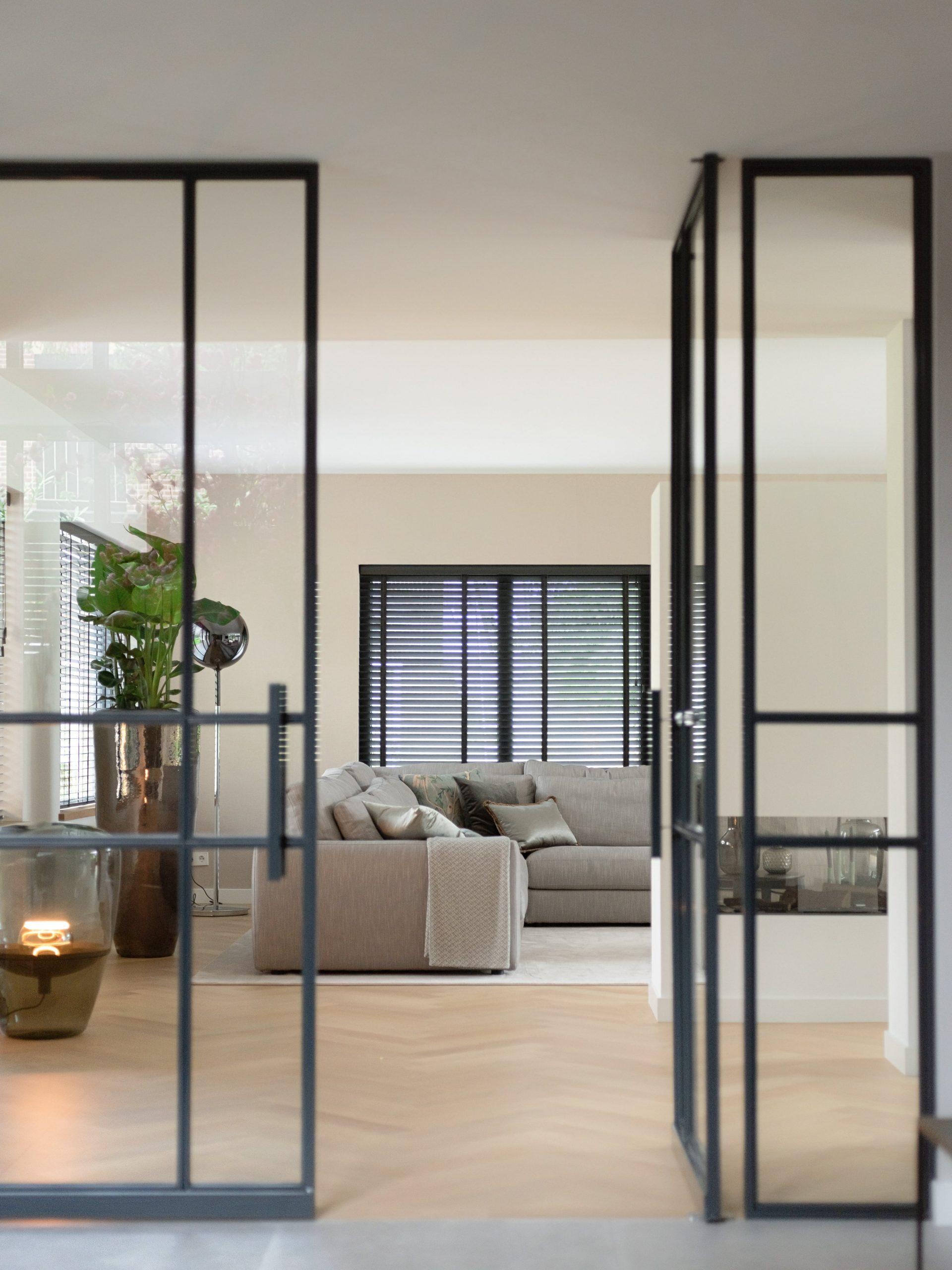 woonkamer inrichting voor villa Nieuwegein